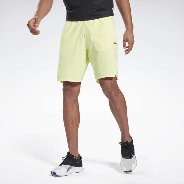 Reebok LES MILLS® Epic Men's Studio Shorts in Yellow