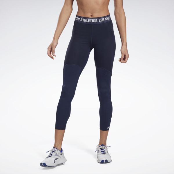 Reebok LES MILLS® PureMove Motion Sense ™ Women's Studio Leggings in Navy