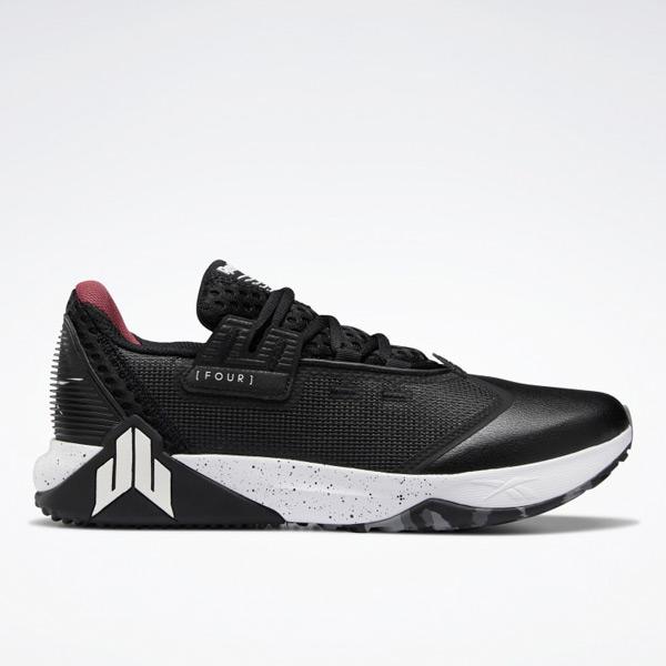 Reebok Men's J.J. IV Cross Training Shoes in Black / White
