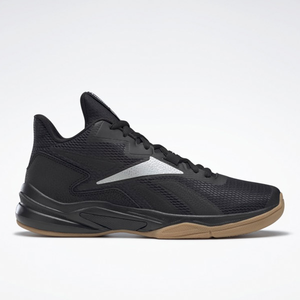 Reebok More Buckets Men's Basketball Shoes in Black / Silver