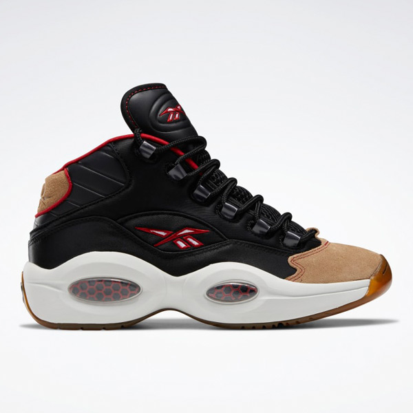 Reebok Men's Question Mid Basketball Shoes in Black