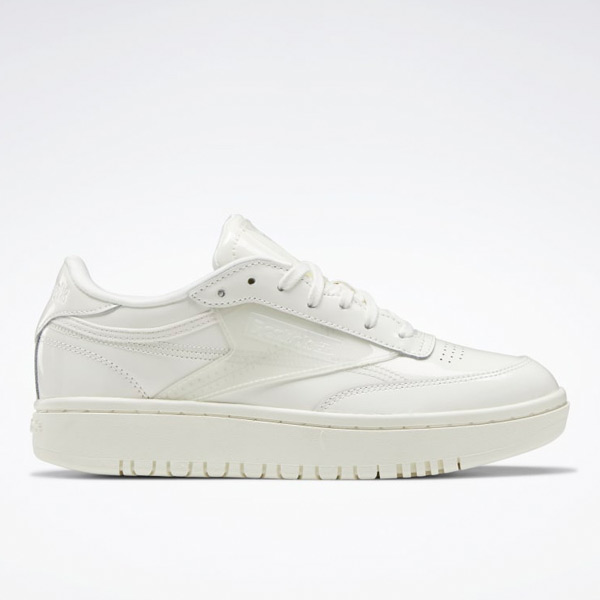Reebok Cardi Coated Club C Double Women's Lifestyle Shoes in White