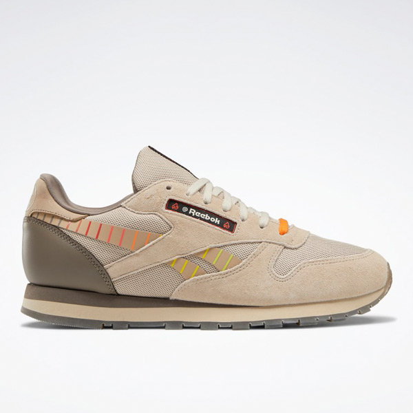 Reebok Unisex Hot Ones Classic Leather Retro Shoes in Grey