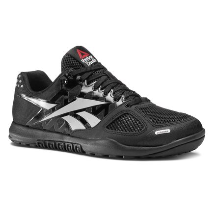 Reebok CrossFit Nano 2.0 Men's Training Shoes in Black / Zinc Grey