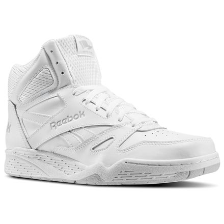 Reebok Royal BB4500 X-Wide 4E Men's Basketball Shoes in White / Steel