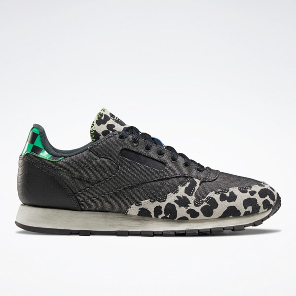 Reebok Unisex Classic Leather Lifestyle Shoes in Dark Grey