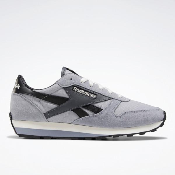 Reebok Unisex Classic Leather AZ Lifestyle Shoes in Grey / Black