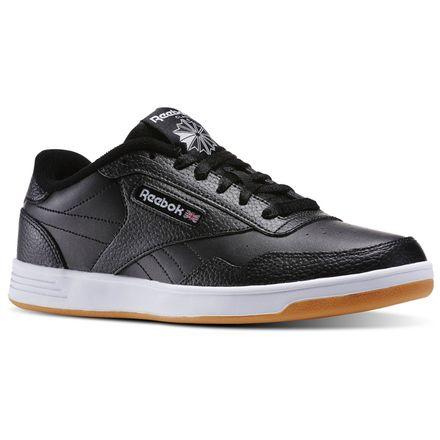 Reebok Club MEMT Gum Men's Court Shoes in Black