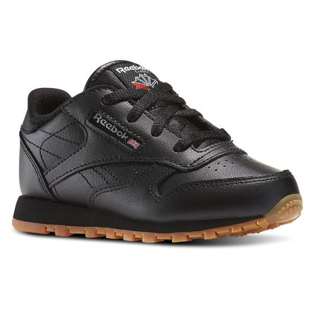 Reebok Classic Leather - Infant & Toddler Kids Unisex Shoes Black / Gum