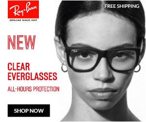 Shop the NEW Ray-Ban Clear Everglasses