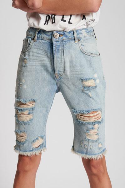 "OneTeaspoon Denim Shorts ""Kansas Truckers"""