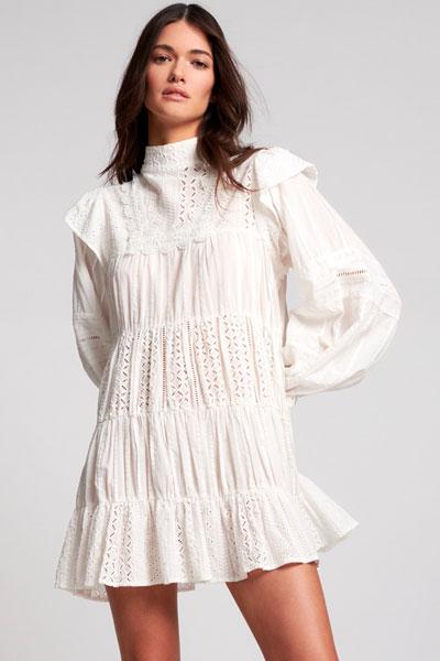 """OneTeaspoon Mini Dress """"White Ritual"""""""