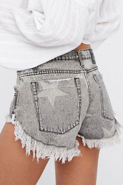 "OneTeaspoon Denim Shorts ""Bonitas Cutoffs"""