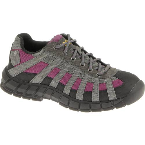 CAT Switch Steel Toe Work Shoe - Women - Charcoal / Pink