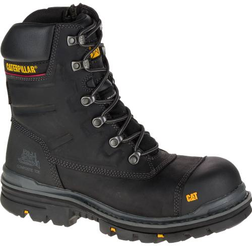 "CAT Premier 8"" Waterproof TX Composite Toe Work Boot - Men - Black"