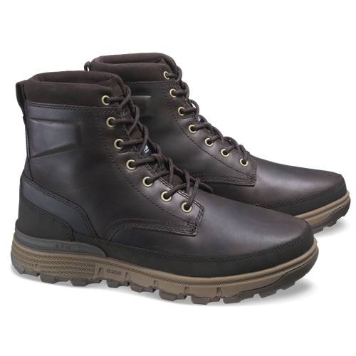 CAT Viaduct ICE+ Waterproof TX Boot - Men - Dark Brown