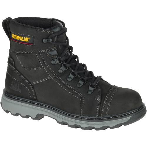 "CAT Granger 6"" Work Boot - Men - Black"