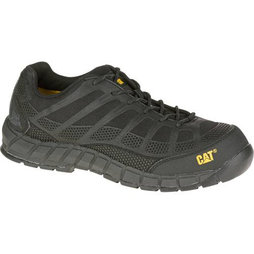 CAT Streamline Composite Toe Work Shoe - Men - Black