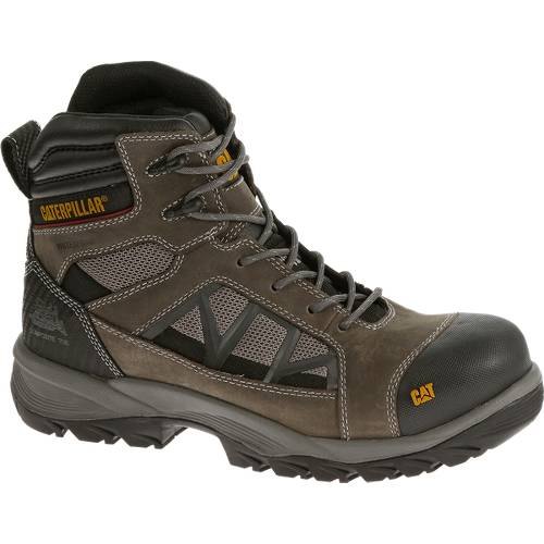 "CAT Compressor 6"" Waterproof Work Boot - Men - Dark Gull Grey"