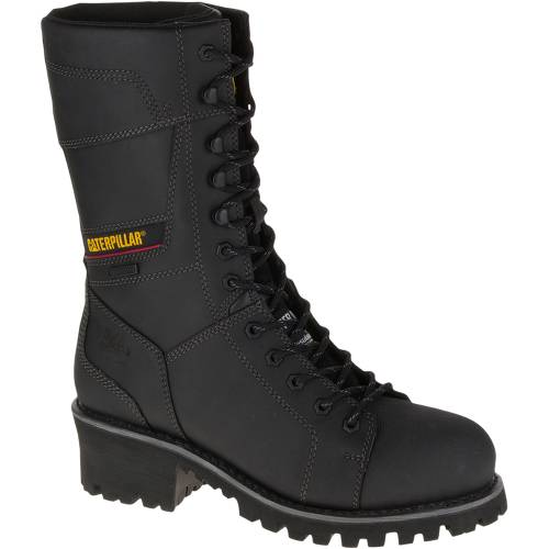 CAT Casebolt Waterproof TX Steel Toe Work Boot - Men - Black