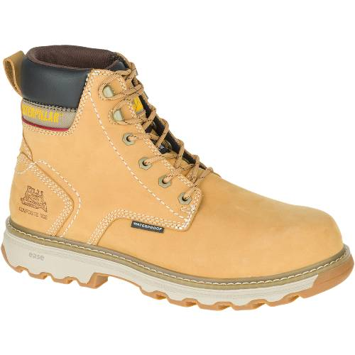 CAT Precision Waterproof Composite Toe Work Boot - Men - Honey Reset