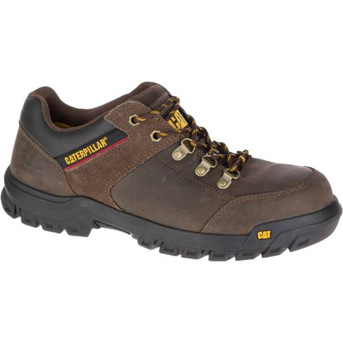 CAT Extension Steel Toe Work Shoe - Men - Brown