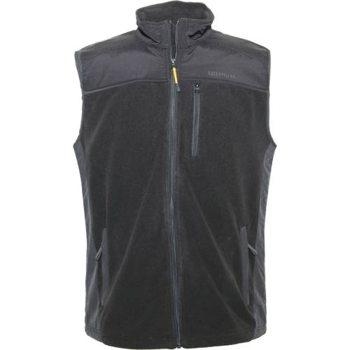 CAT Momentum Fleece Vest - Men - Black