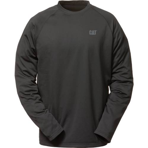 CAT FLEX LAYER LONG SLEEVE TEE - Men - Black