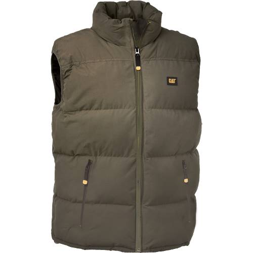 CAT ARCTIC ZONE VEST (Big & Tall) - Men - Army Moss