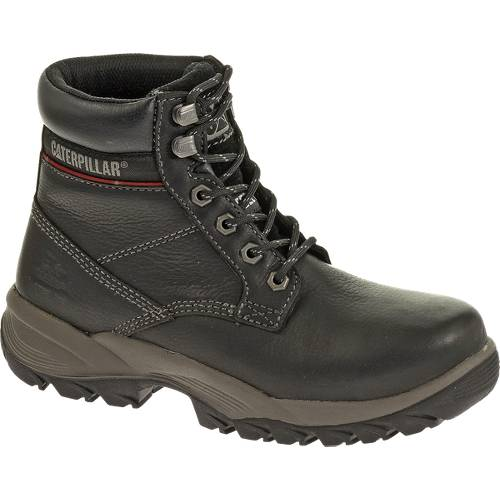 "CAT Dryverse 6"" Waterproof Steel Toe Work Boot - Women - Black"