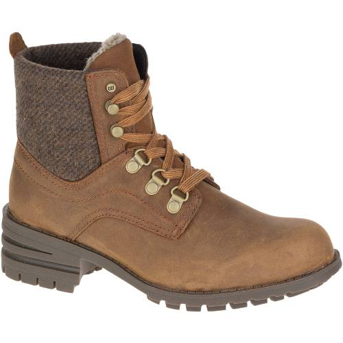 CAT Taylor Waterproof Boot - Women - Brown Sugar