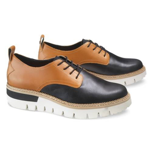 CAT Windup Shoe - Women - Black / Beige