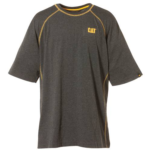 CAT Performance Short Sleeve Tee - Men - Charcoal Heather