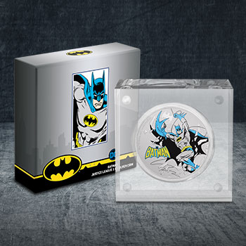 2020 Batman 1oz Silver Coin DC Comics Silver Collectible