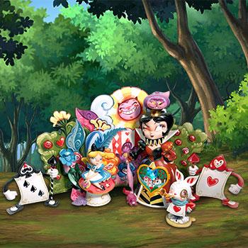 Alice in Wonderland (Deluxe) Disney Collectible Set