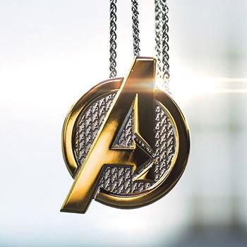 Avengers Necklace Marvel Jewelry