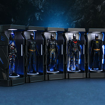 Batman: Arkham Knight Armory Miniature DC Comics Collectible Set