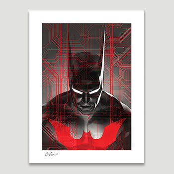 Batman Beyond DC Comics Art Print