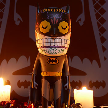 Batman Calavera DC Comics Designer Collectible Toy