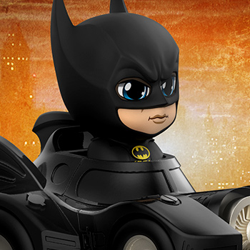 Batman with Batmobile DC Comics Collectible Set