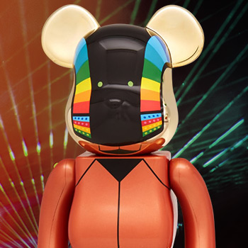 Be@rbrick Daft Punk: Guy-Manuel de Homem-Christo 1000% (Discovery Version) Daft Punk Figure
