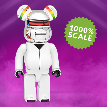 Be@rbrick Daft Punk: Thomas Bangalter 1000% (Discovery Version) Daft Punk Figure