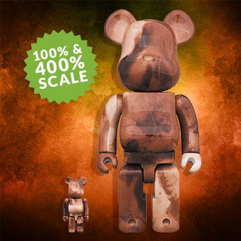 Be@rbrick Pushead #4 100% and 400% Pushead Collectible Set