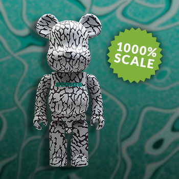 Be@rbrick x atmos x ELEPHANT 1000% Atmos Figure