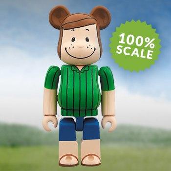 Bearbrick Peppermint Patty 100 Peanuts Figure