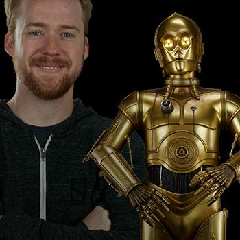C-3PO Star Wars Legendary Scale™ Figure