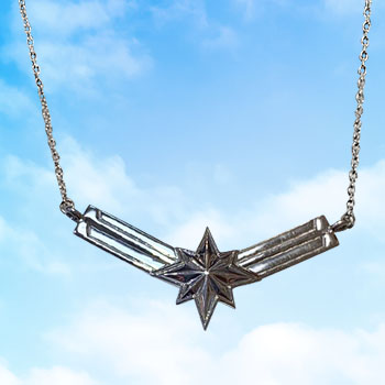 Captain Marvel's Necklace Marvel Jewelry
