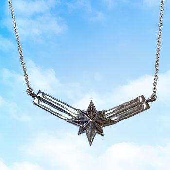 Captain Marvel's Necklace Marvel Jewelry