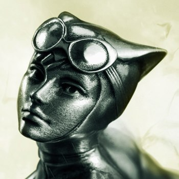 Catwoman Figurine DC Comics Pewter Collectible