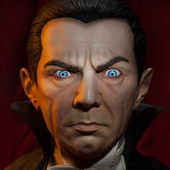 Classic Dracula Dracula Life-Size Bust